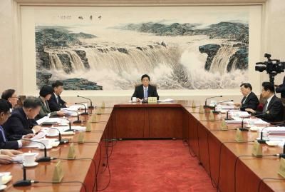 China's standing committee session opens Saturday