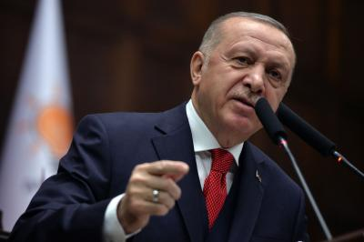 Erdogan slams Syria for not complying with ceasefire