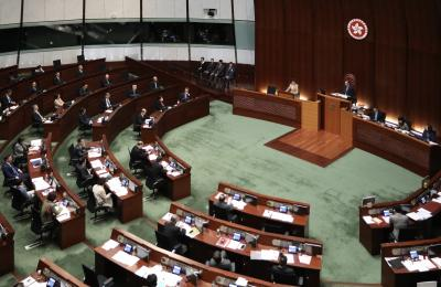 Hong Kong's legislature passes national anthem law