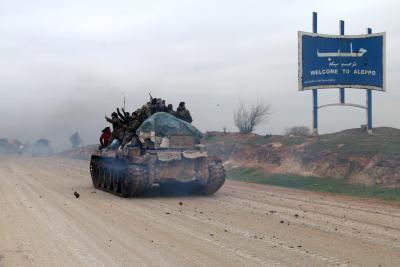 Major highway in Syria partially reopens for traffic