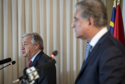 UNSC resolutions on Kashmir need to be implemented: Guterres