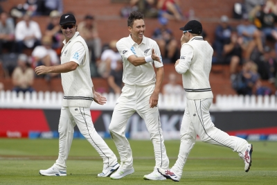 1st Test: NZ in control against India at Lunch on Day 2