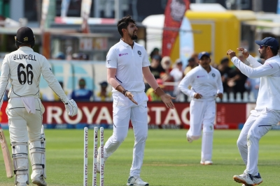 Ishant likely to miss Christchurch Test with ankle injury