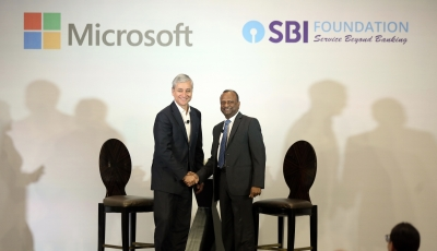 Microsoft, SBI partner to help youth with disabilities