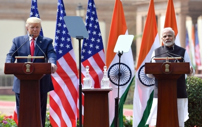 Trump says Modi not in good mood about China