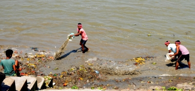 River Ganga could send 3 bn microplastics a day into Bay of Bengal