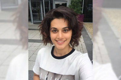 Lockdown diaries: Taapsee's hair-raising experiments continue