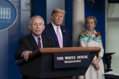 Trump versus Fauci reaches fever pitch as White House smear campaign rages