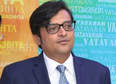 'Apologise with folded hands on TV': Shiv Sena to Arnab Goswami