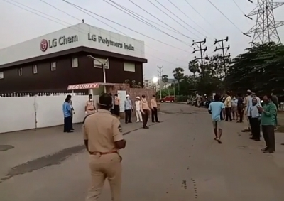 LG Polymers CEO, 11 others arrested for Vizag gas leak (Lead)