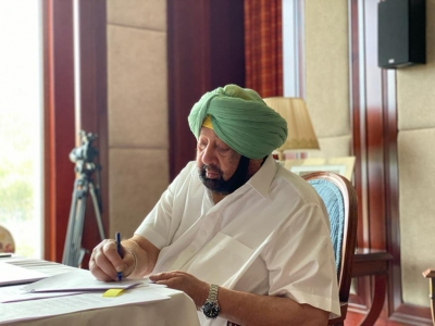 Punjab CM launches stir against farm laws at Bhagat Singh's village