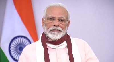 Modi pays tribute to India's First PM