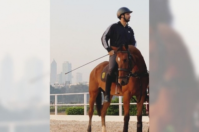 Vicky remembers his horse riding days in throwback photo