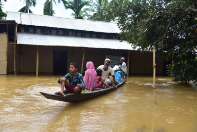 Pre-monsoon floods hit three lakh people in 11 Assam districts