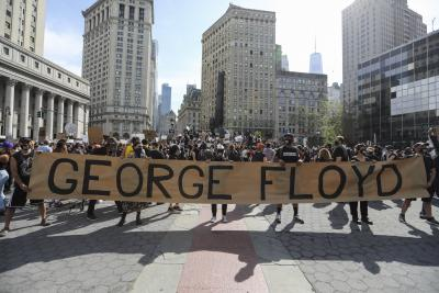 George Floyd protests in US turn into movement