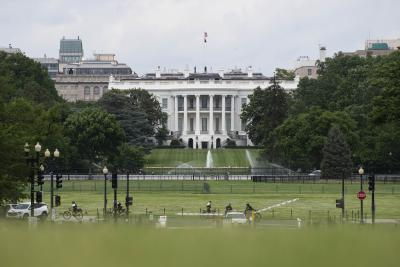Curfew in Washington after protests near White House