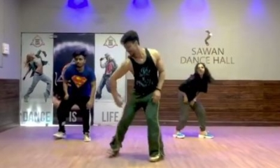 Disha Patani loves Tiger Shroff's groovy dance moves