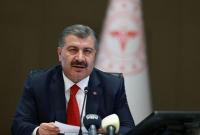 Turkish minister warns of spike in COVID-19 cases in risk groups