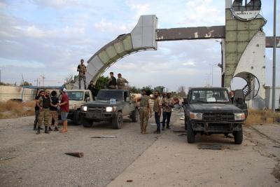 Libya's UN-backed govt forces take over Tripoli airport