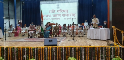 28 ministers including 12 from Scindia camp sworn in MP (Ld)