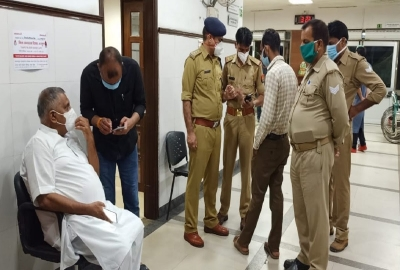 Chaubepur SO suspended, STF questioning him on UP police raid