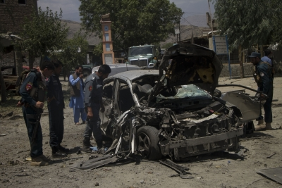 Three policemen killed in suicide bomb blast in Kandahar