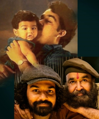 Mohanlal on son Pranavs bday: My little man is not so little any more