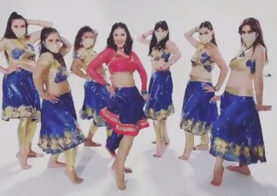For Sunny Leone', it is 'almost time to dance'