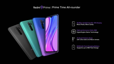 Xiaomi launches affordable Redmi 9 Prime in India