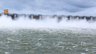 Krishna river in rain-hit Karnataka flows near danger mark