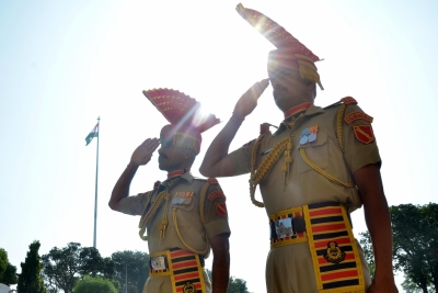 In a first in 61 years, no spectators at I-Day ceremony at Attari