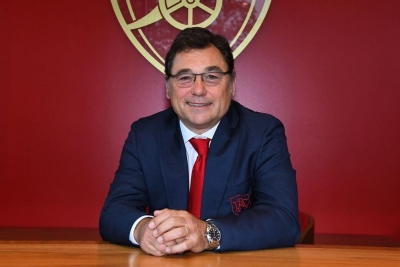 Arsenal announce head of football Raul Sanllehi's departure