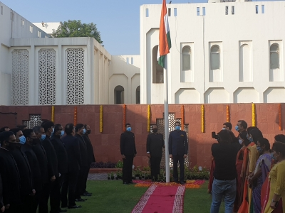 Indian expats in UAE celebrate I-Day
