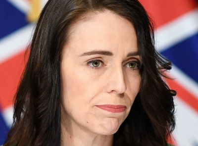 Ardern admits she 'made a mistake' with group photo
