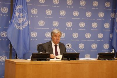 UN chief calls for fighting misinformation to tackle COVID-19