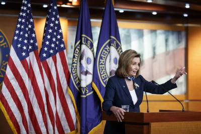 Pelosi says another Covid-19 stimulus plan still possible