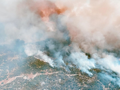 Satellite photos show severe damage in US' record 2020 wildfire season