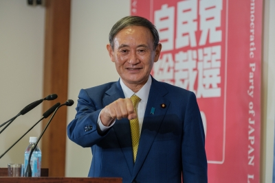Japan PM pledges continued cooperation to UN in fighting COVID-19 pandemic