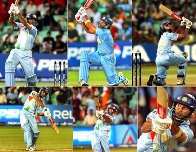 This day in 2007: Yuvraj hits Broad for six 6s in Durban