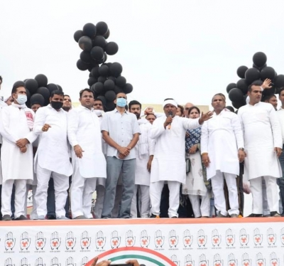Youth Cong's tractor rally in Panipat against Farm Bills