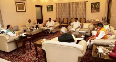 BJP's core committee meeting discusses law and order in Bengal