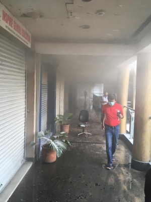 Fire in Delhi Mall, no casualty