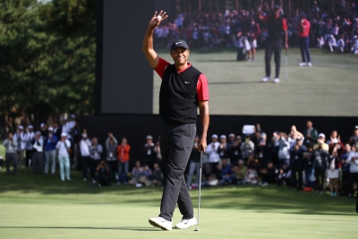 Tiger Woods commits to defend title at Zozo Championship