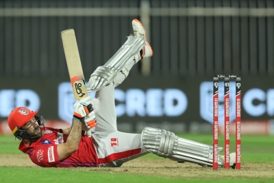 IPL 2021: Maxwell's all-round show, Harshal's hat-trick power RCB to 54-run win (2nd Ld)