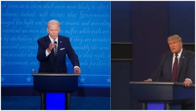 Biden's national lead against Trump narrows to 4 points