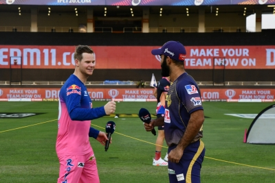 RR win toss, choose to bowl against KKR