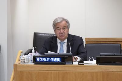 UN chief calls for solidarity to confront Covid-19