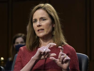 Amy Coney Barrett confirmed to US' Supreme Court
