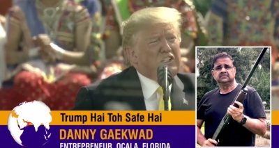 Pro-Trump Indian-American campaign video stresses safety, economy, India support