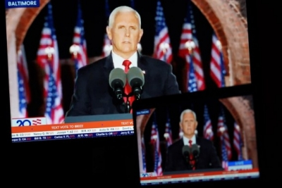 Mike Pence's chief of staff tests Covid-19 positive